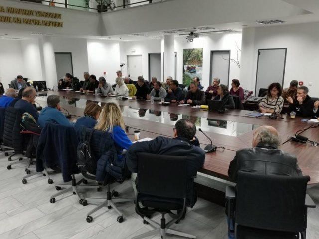 Η συνεδρίαση της Επιτροπή Διαβούλευσης του Δήμου Μεγαλόπολης για την κατάθεση προτάσεων για την μεταλιγνιτική εποχή